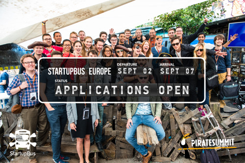 Preview: StartupBus Europe starts recruitment for the 2016 bootcamp