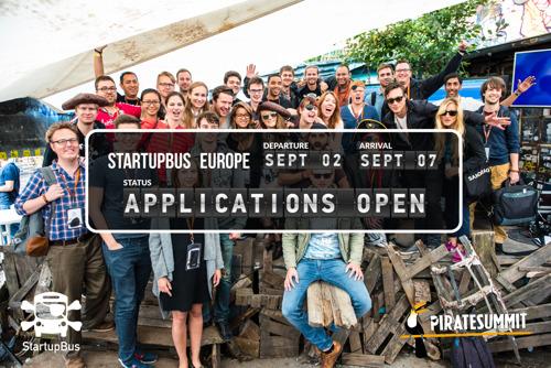 StartupBus Europe starts recruitment for the 2016 bootcamp