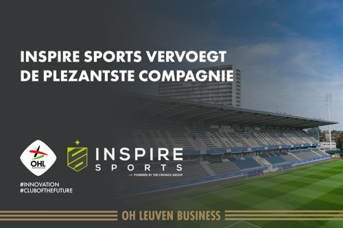 """OH Leuven & De Cronos Groep bouwen samen aan de """"club van de toekomst""""."""