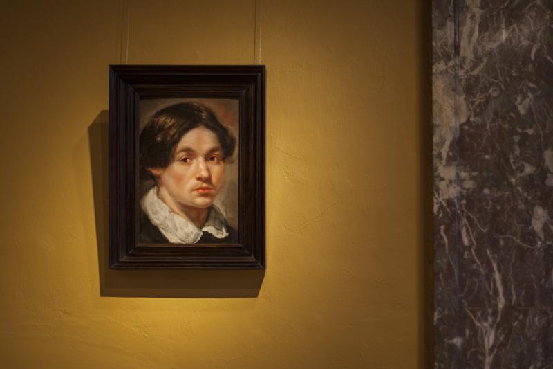 Jan Cossiers, Portret van een jongeman, schenking uit een particuliere verzameling, foto  Ans Brys