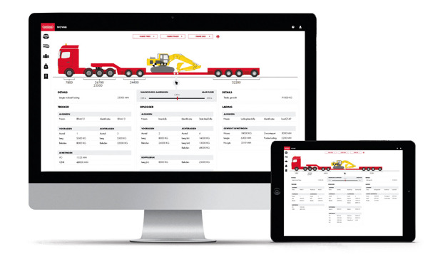 Preview: Nooteboom introduces NOVAB 3.0 Axle load calculation