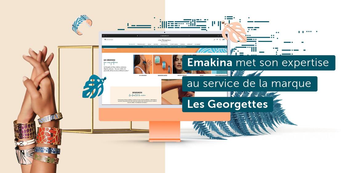 Emakina met son expertise au service de la marque Les Georgettes