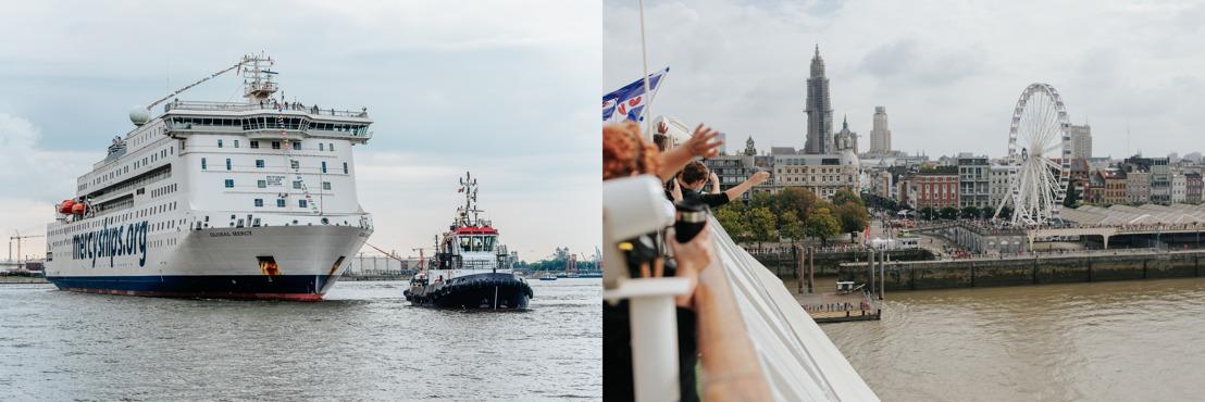 Global Mercy™, världens största civila sjukhusfartyg, har anlänt till Europa