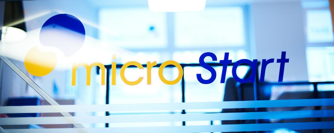 microStart inaugure son agence de Charleroi