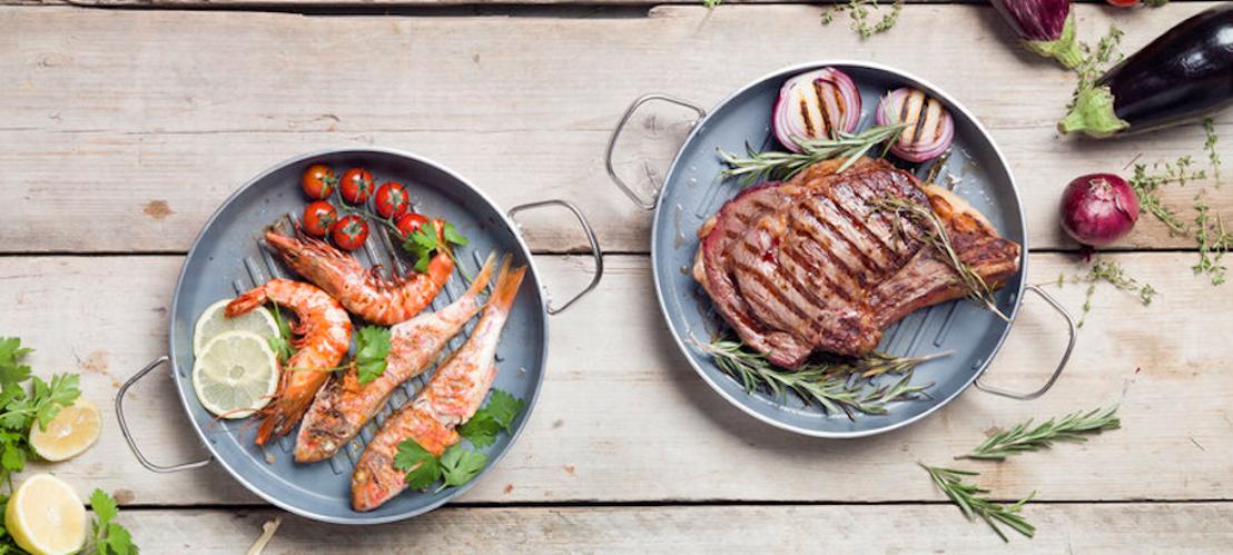 GreenPan™ Essential grillpan: dé sleutel tot gezond en lekker grillen