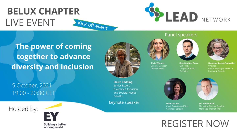 Bedrijven in retail & consumptiegoederen, groothandelaars en dienstverleners lanceren het LEAD Network BELUX Chapter en slaan handen in elkaar voor meer diversiteit