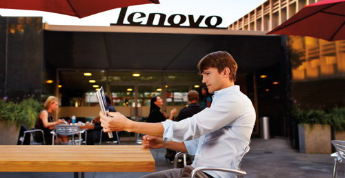 Preview: Lenovo names Ashton Kutcher as its newest product engineer