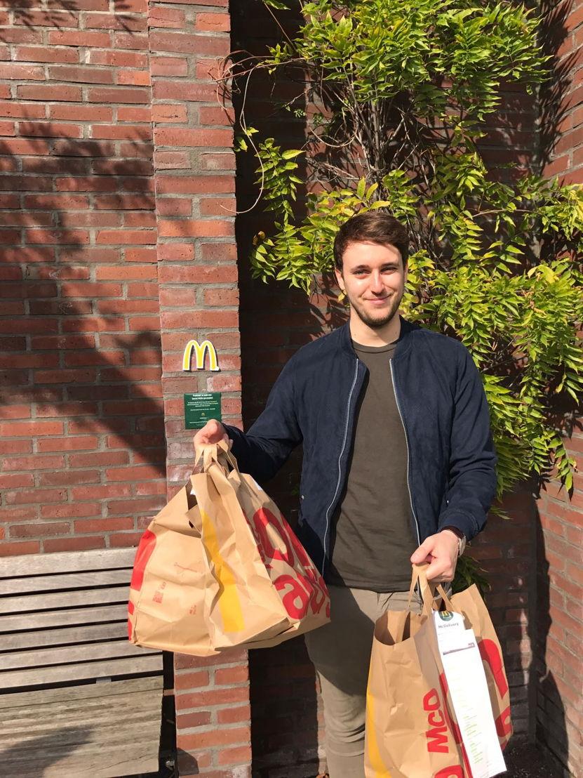 Secret McDo's in Antwerpen