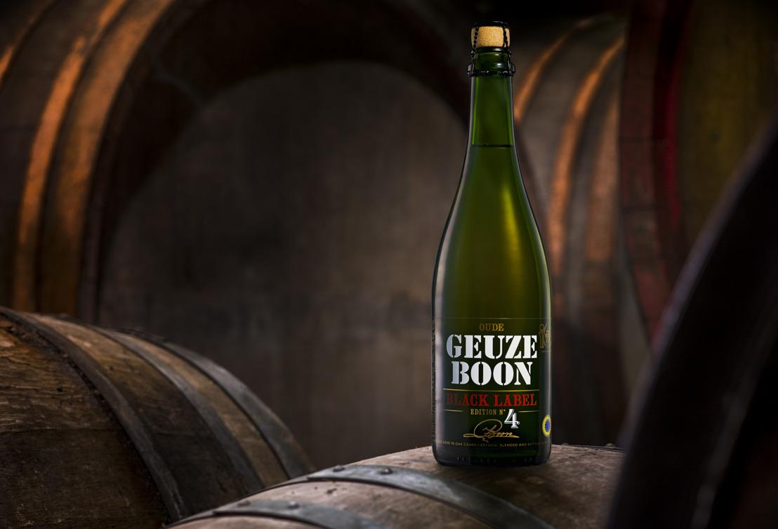 Pas voorgestelde Boon Oude Geuze Black Label Edition N°4 meteen in de prijzen op Brussels Beer Challenge 2019