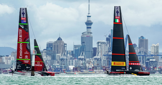 Sennheiser supported Riedel for 36th America's Cup presented by PRADA