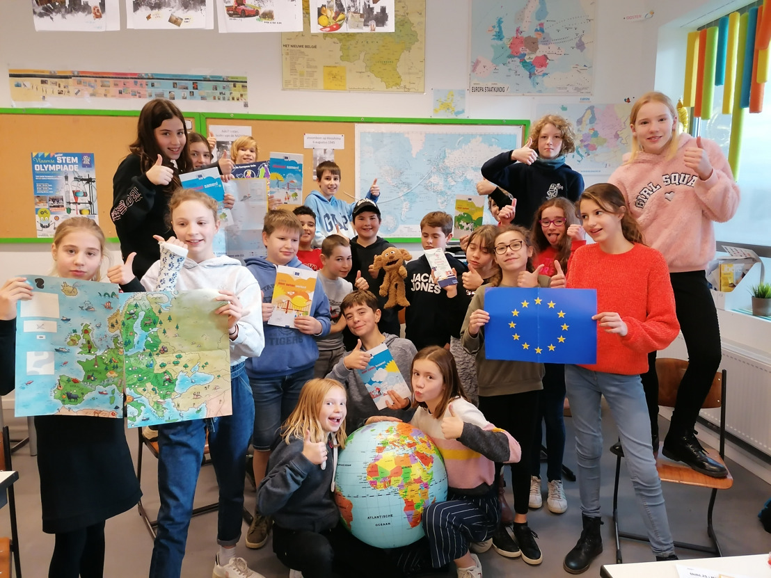Klas 6A van Vrije School De Bosstraat uit Leuven is Sterrenklas