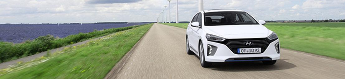 Studie bevestigt toprestwaarden voor hoog aangeschreven nieuwe Hyundai IONIQ Hybrid en IONIQ Electric