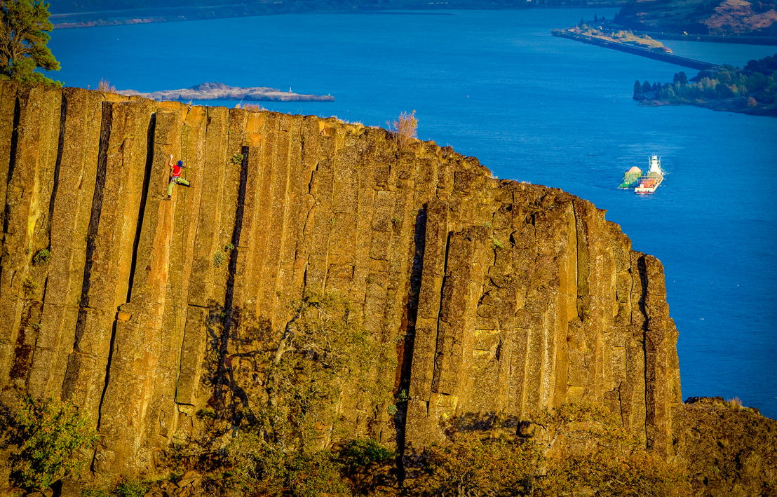 OUTFOUND - Wall Climbing in Columbia River Gorge