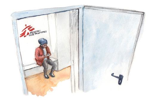 Von Krieg und Flucht gezeichnet - Luzernerin am Fumetto