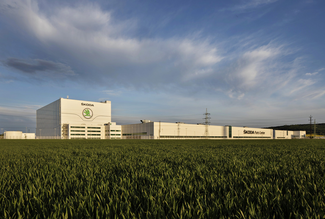 ŠKODA Parts Centre in Mladá Boleslav ensuring fast and reliable supply of genuine parts for 20 years