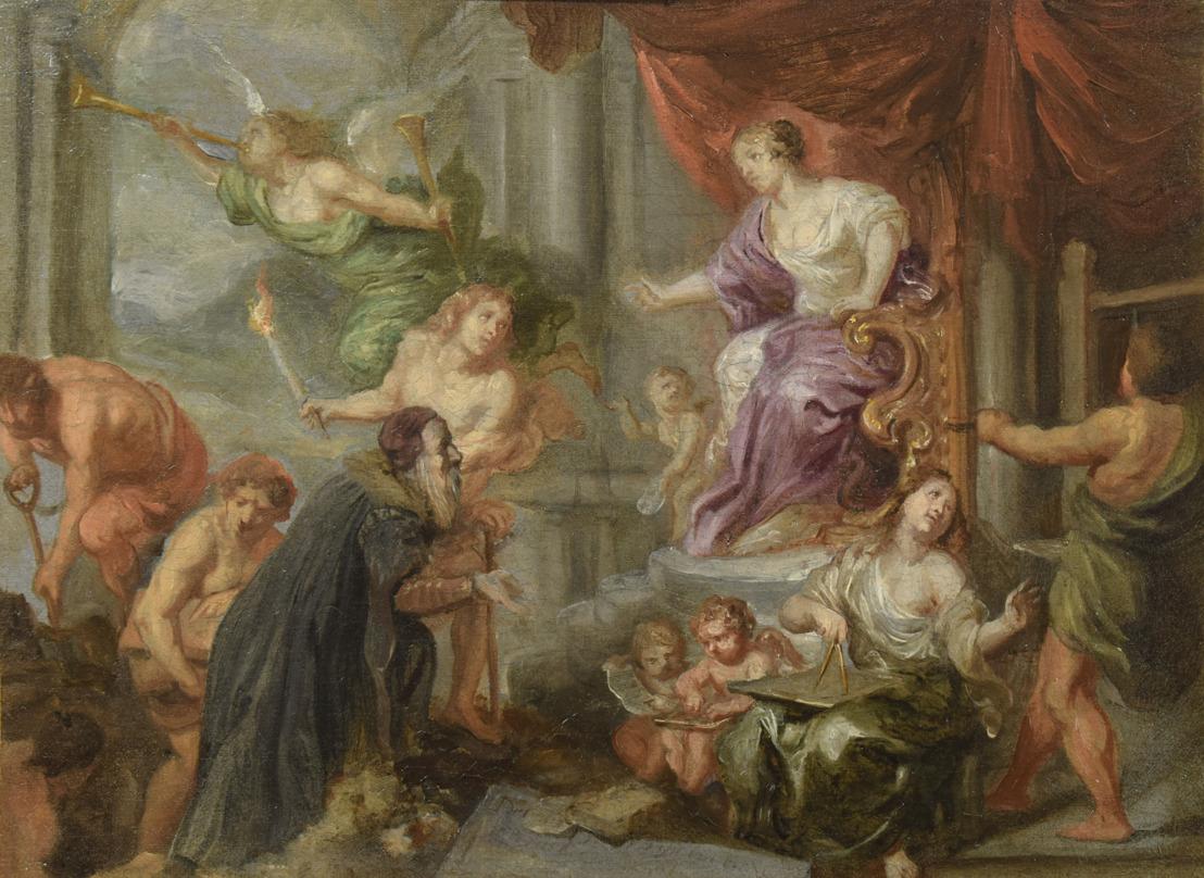 Nieuwe aanwinst in Museum Plantin-Moretus: een unieke olieverfschets van de barokschilder Theodoor Boeyermans