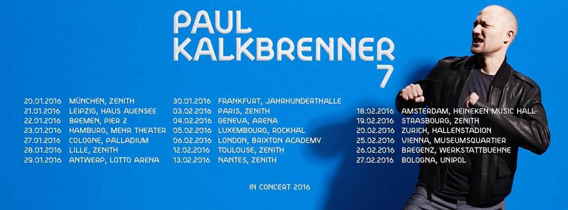 Für D/A/CH - Europa Tour 2016