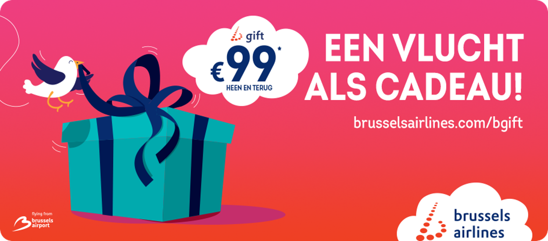 De winter staat voor de deur en brengt b.gift van Brussels Airlines mee