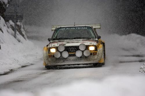 Audi célèbre 40 ans de quattro