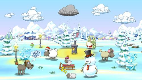 Mäh Ihr Schafe! Clouds & Sheep 2 grast Nintendo Switch™ ab