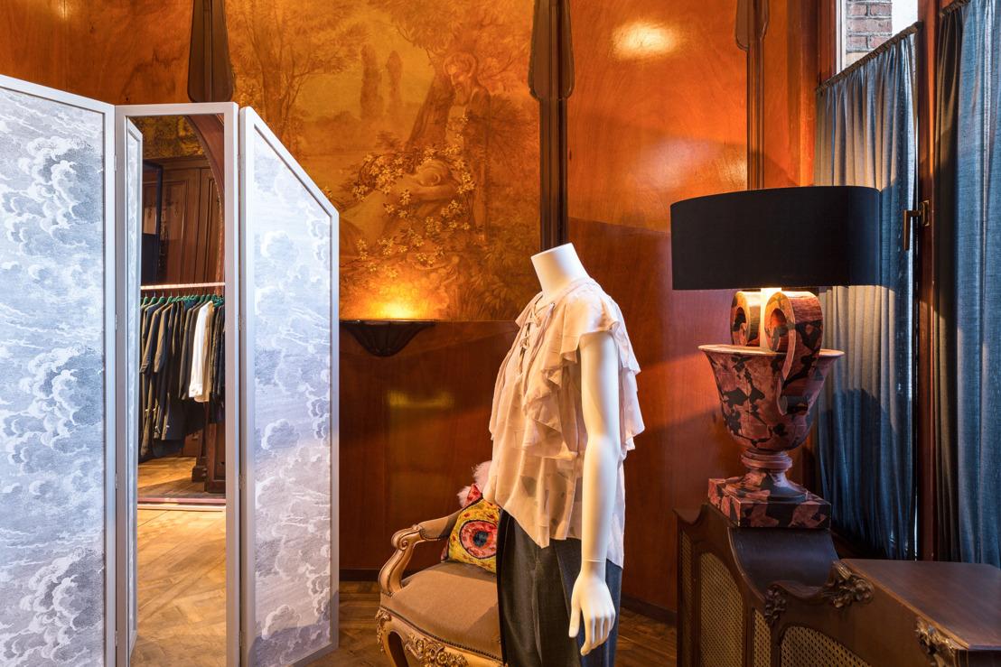 Enes opent monumentale shop in Antwerpen