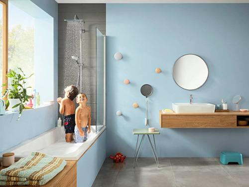 Croma E & Ecostat E van hansgrohe: Zorgeloos douchen zonder risico's