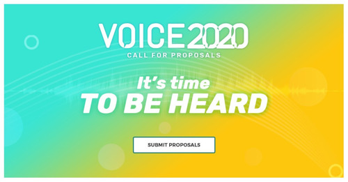 VOICE Summit 2020 Opens Call for Speakers