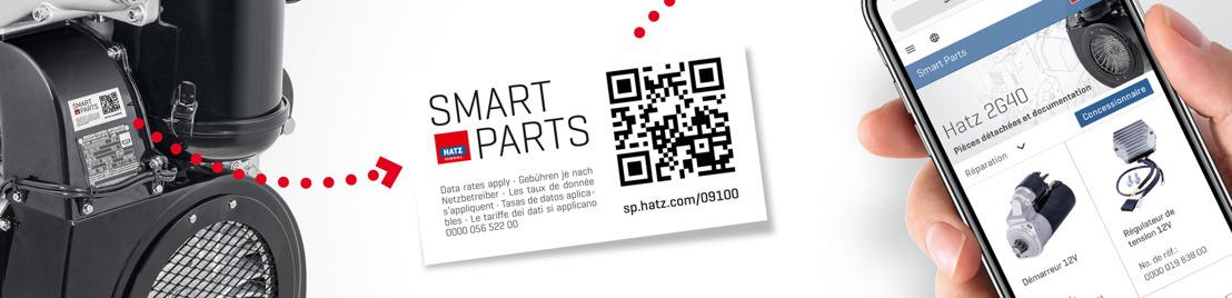 « Smart Parts » : un service innovant de Hatz