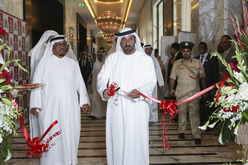 H.H. Sheikh Ahmed bin Saeed Al Maktoum, Chairman and Chief Executive, Emirates Airline and Group inaugurated AVSEC