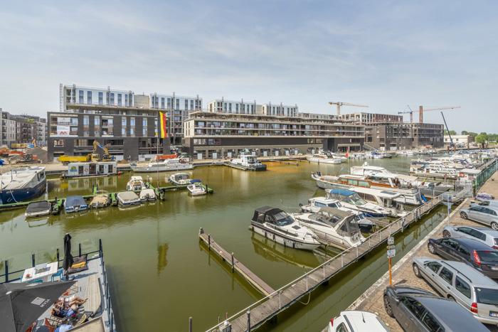 Quartier Bleu verrijst aan Hasseltse kanaalzone