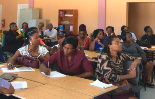 Evidence-based Decision Making: Education Leaders in Antigua and Barbuda Receive Training in Data Management and Analysis
