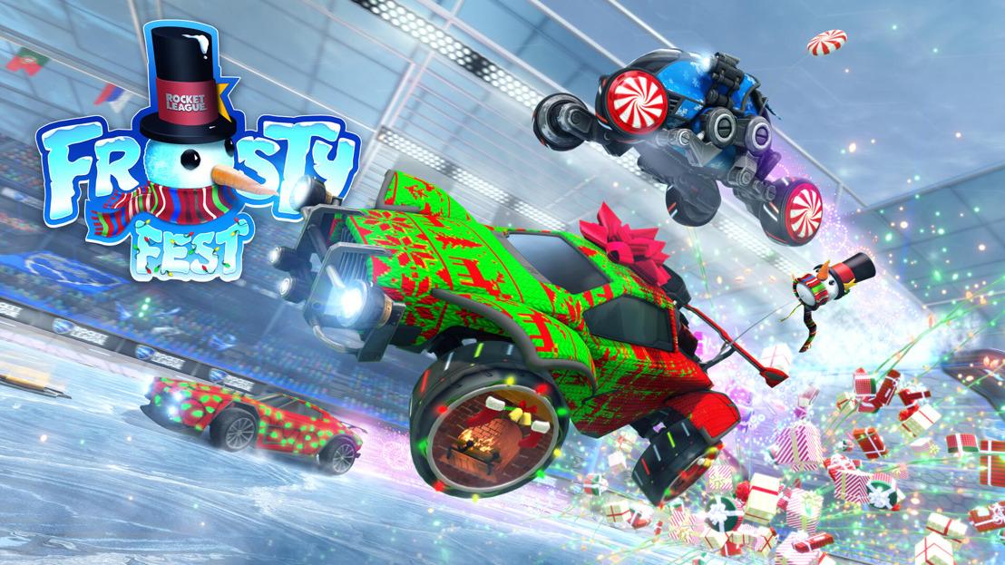 Frosty Fest Regresa a Rocket League el 14 de diciembre