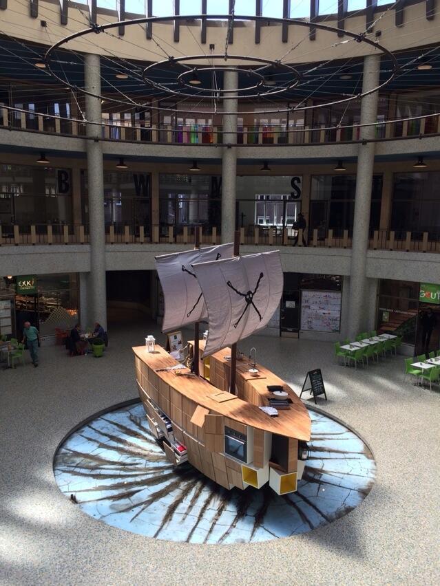 De piratenbootkeuken van Noortje.