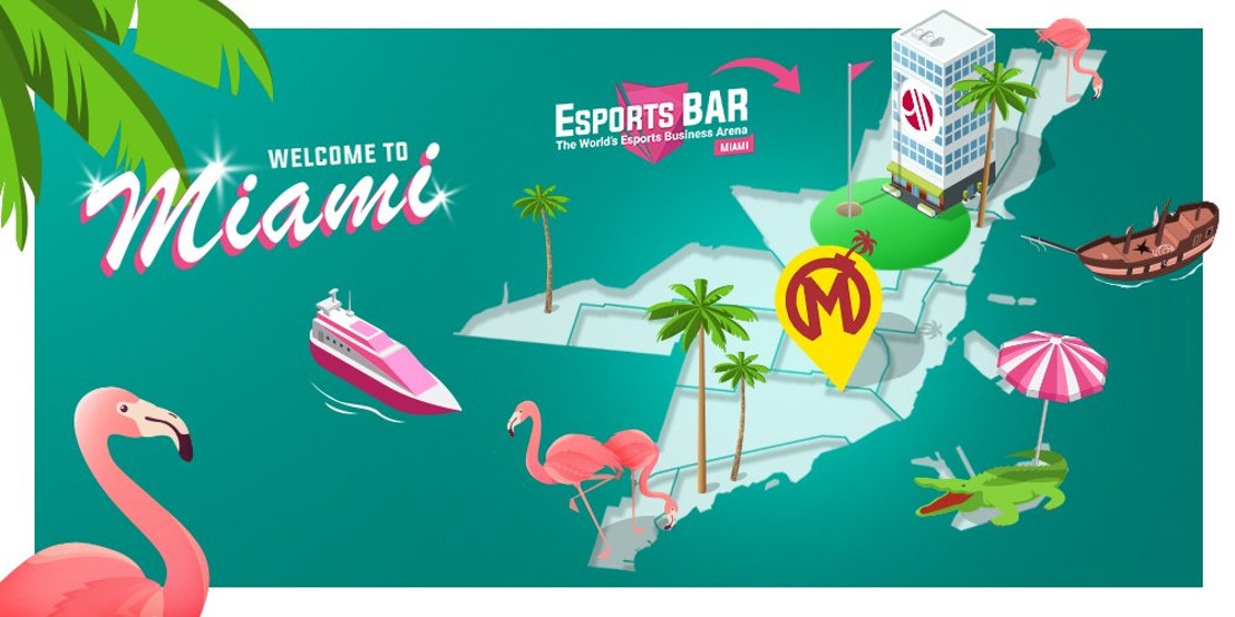WePlay! Esports is a sponsor of Esports BAR Miami 2019