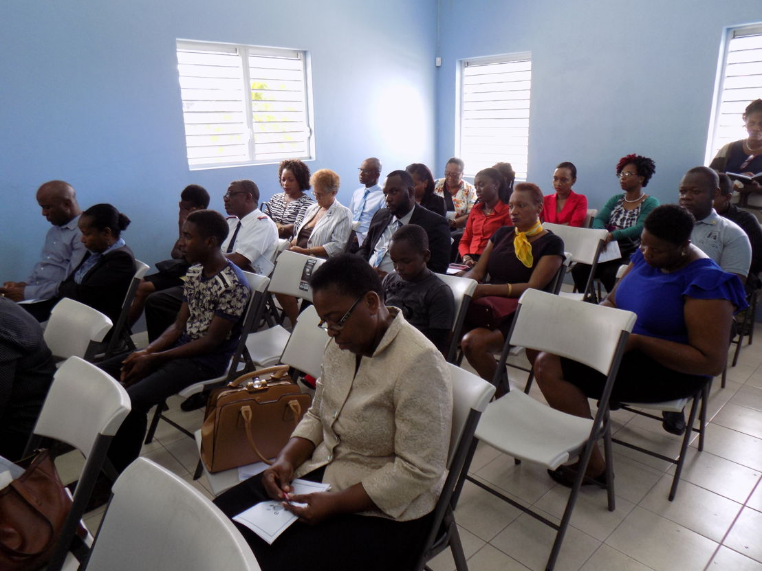 Opening Ceremony of the Liberty Lodge Boys Training Center in St. Vincent and the Grenadines