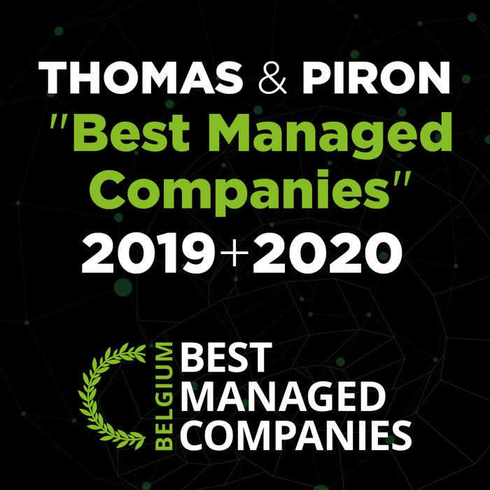 """Thomas & Piron conserve le label """"Best Managed Companies"""" en 2020 !"""