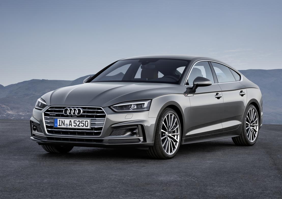 De nieuwe Audi A5 en S5 Sportback – design treft functionaliteit