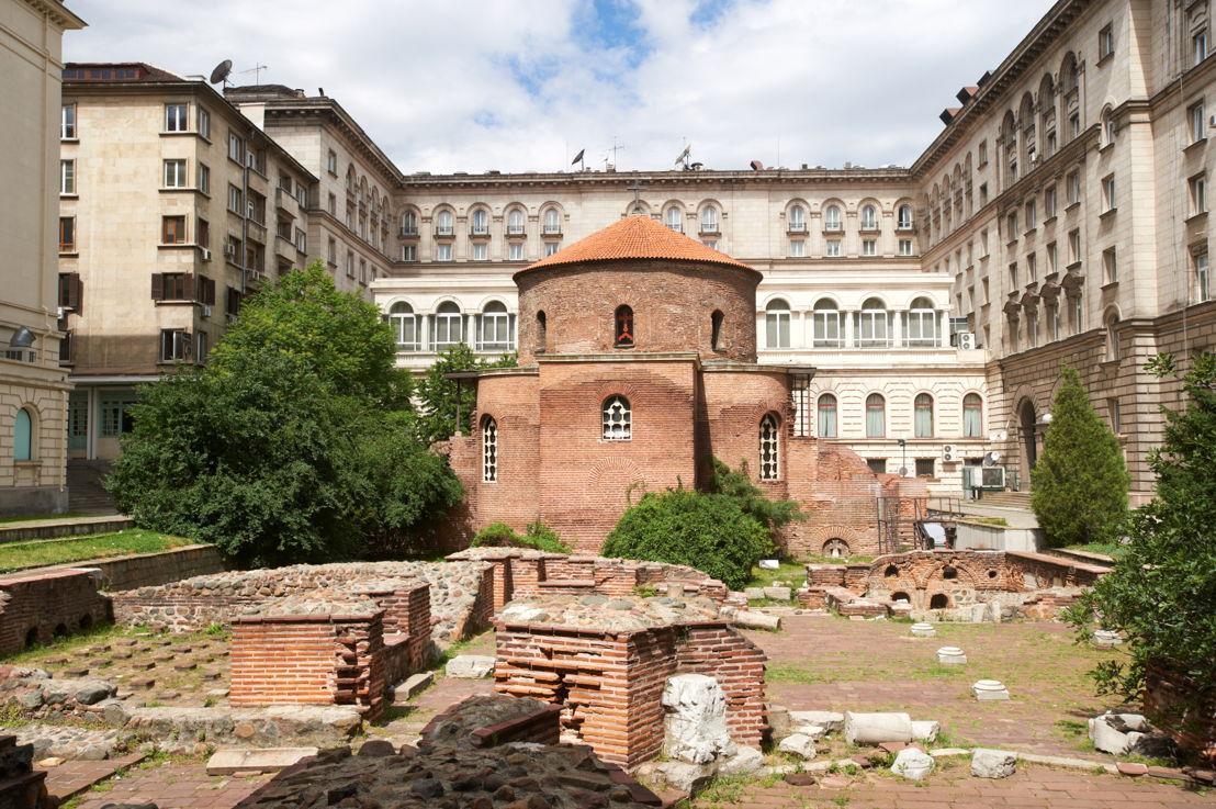 Oldest church in Sofia, Bulgaria