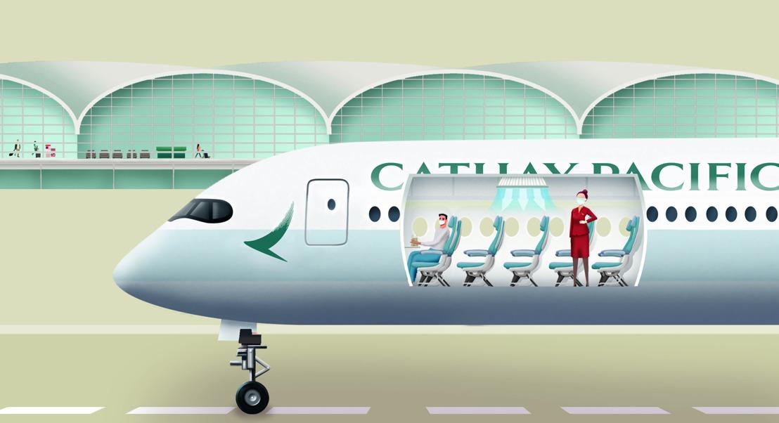 Cathay Pacific lanceert Cathay Care-programma en deelt Care Kits uit aan passagiers
