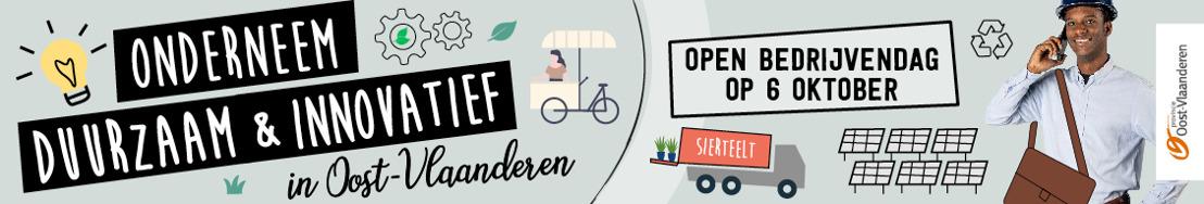 Open Bedrijvendag: Provincie Oost-Vlaanderen doet ook mee!