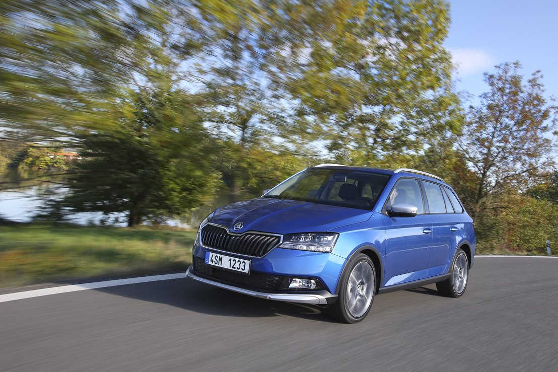 ŠKODA FABIA COMBI SCOUTLINE – robust sporting style with off-road looks