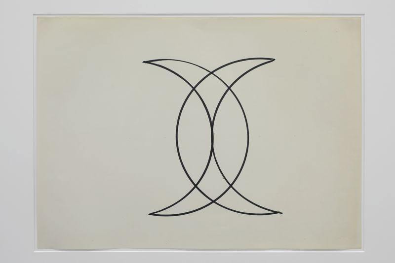 Sans Titre (Signature de Mahomet), ca 1971   Courtesy Centre Pompidou, Paris<br/>Musée national d'art moderne / Centre de création<br/>industrielle , foto (c) Isabelle Arthuis