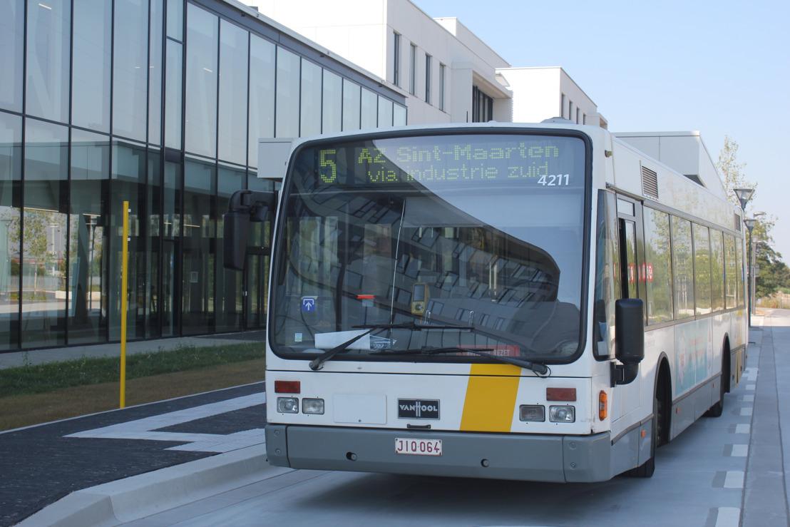 vanaf 1 oktober: 3 extra buslijnen aan AZ Sint-Maarten