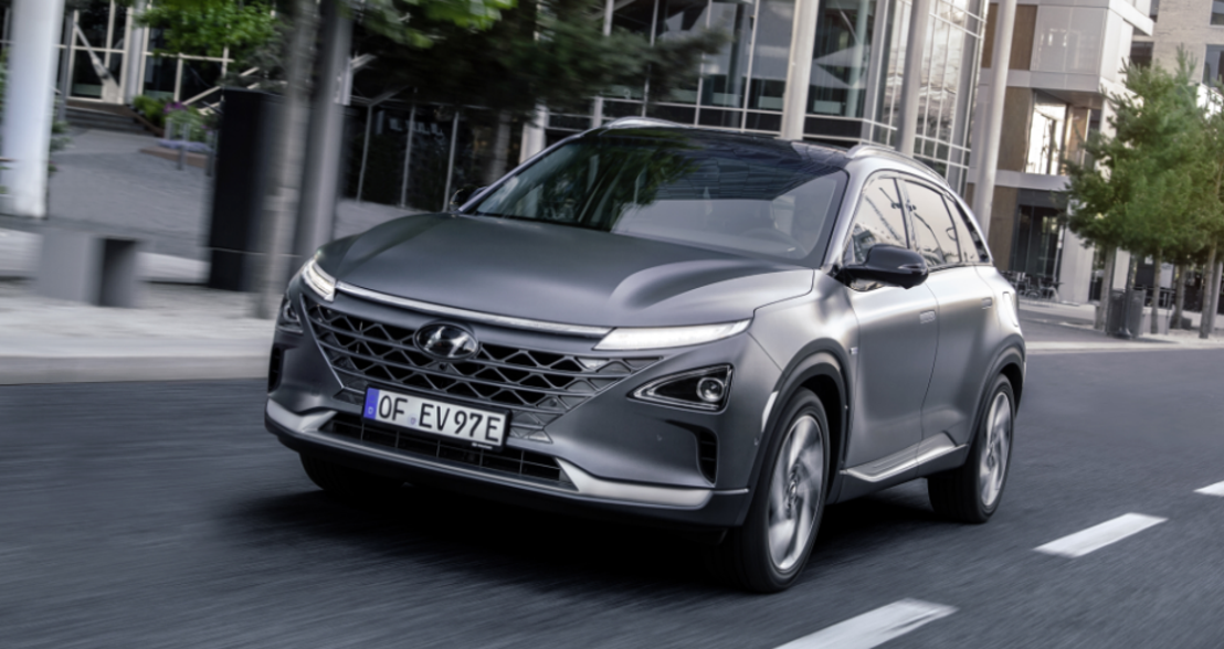 All-New Hyundai NEXO, das FUV (Future Utility Vehicle) von Hyundai