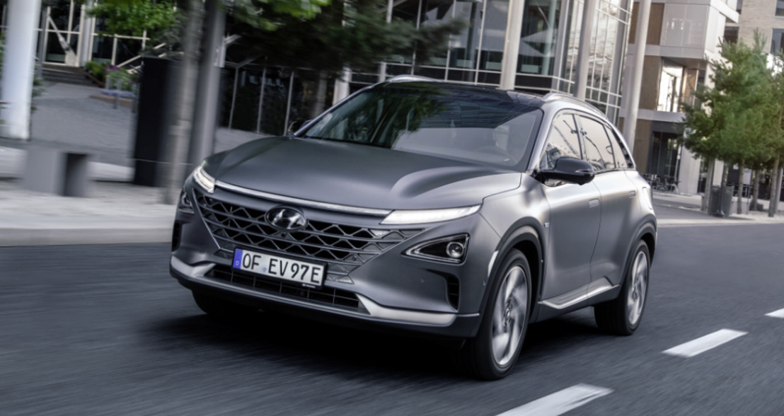 All-New Hyundai NEXO, das FUV (Future Utility Vehicle) von Hyundai