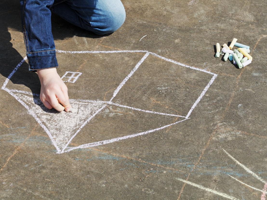Sidewalk chalk offers multiple, fun math related games
