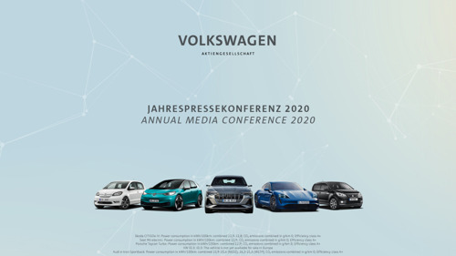 Annual Media Conference of Volkswagen AG