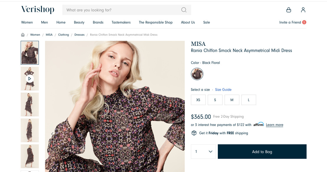Verishop and Affirm Partner to Enable Customers to Shop Now and Pay Over Time
