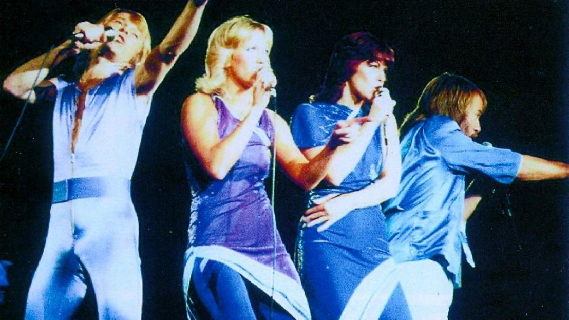 Abba in concert - (c) SVT