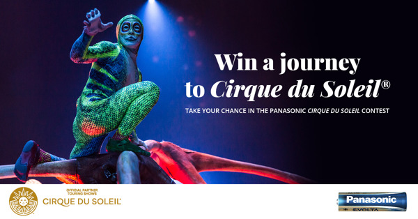 Preview: Panasonic bringt Sie zum Cirque du Soleil® in Las Vegas